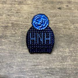 Hat Not Hate Enamel Pin