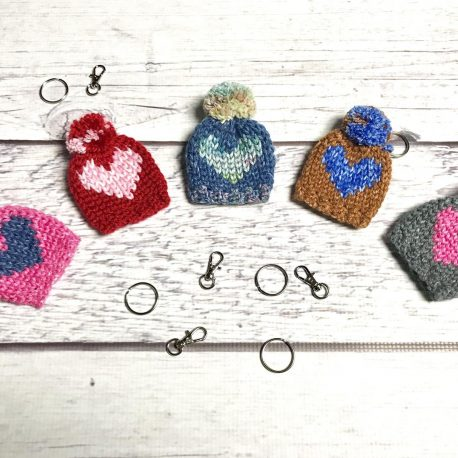 Kind Heart Beanie Keychain Pattern