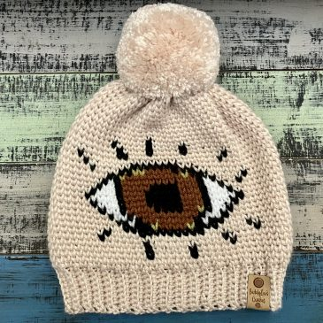Watchful Eye Beanie Pattern