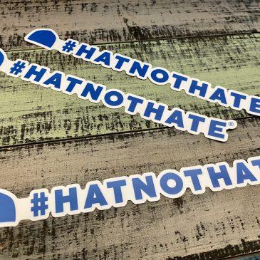 Hat Not Hate Bumper Sticker